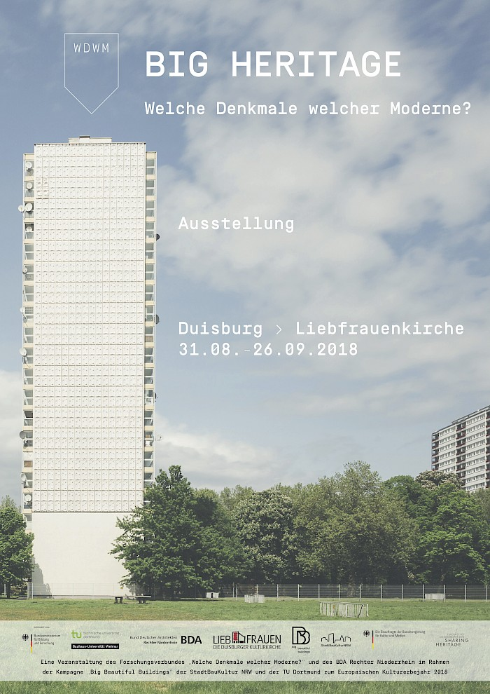 "Big Beautiful Buildings | Projekte | ""BIG HERITAGE. Welche Denkmale ..."